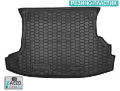 Коврик в багажник Nissan X-Trail 00-08, резино-пластик (Avto Gumm)