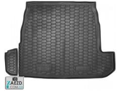 Коврик в багажник Audi 80 91-95 седан, резиновый (Avto Gumm)