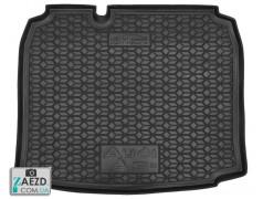 Коврик в багажник Audi A3 03-12 хетчбэк, резиновый (Avto Gumm)