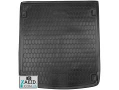Коврик в багажник Audi A6 14-19 универсал, резиновый (Avto Gumm)