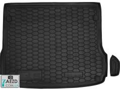Коврик в багажник Audi Q5 08-18, резиновый (Avto Gumm)