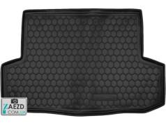 Коврик в багажник Chevrolet Aveo 05-11 седан, резиновый (Avto Gumm)