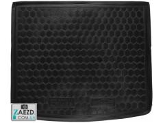 Коврик в багажник Chevrolet Cruze хэтчбек 11-15, резиновый (Avto Gumm)