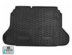 Коврик в багажник Chevrolet Lacetti 04-13 хетчбэк, резиновый (Avto Gumm)