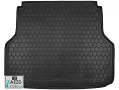 Коврик в багажник Chevrolet Lacetti 04-13 универсал, резиновый (Avto Gumm)