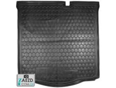 Коврик в багажник Citroen C-Elysee 12- резиновый (Avto Gumm)