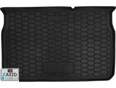 Коврик в багажник Citroen C3 16- резиновый (Avto Gumm)