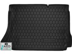 Коврик в багажник Daewoo Sens 02-18 хетчбэк, резиновый (Avto Gumm)