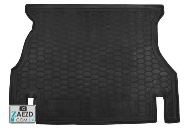 Коврик в багажник Daewoo Nexia 2 08-16, резиновый (Avto Gumm)