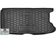 Коврик в багажник Fiat 500e 13- резиновый (Avto Gumm)