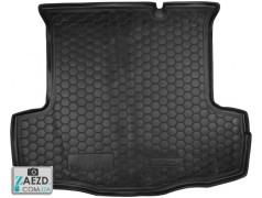 Коврик в багажник Fiat Linea 07-12, резиновый (Avto Gumm)