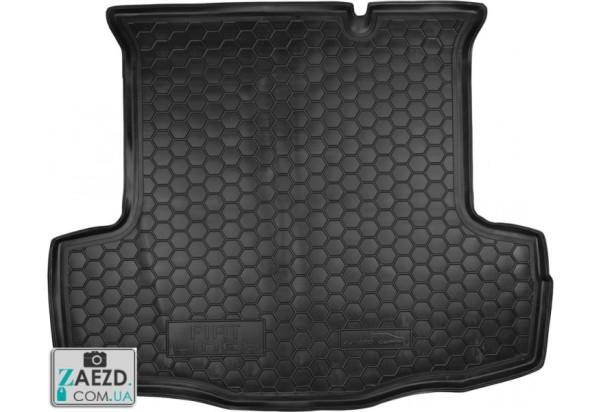 Коврик в багажник Fiat Linea Classic 12-15, резиновый (Avto Gumm)