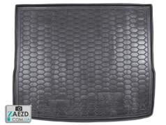 Коврик в багажник Ford Focus 2 05-10 универсал, резиновый (Avto Gumm)