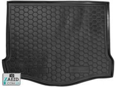 Коврик в багажник Ford Focus 3 11-18 хетчбэк (С докаткой), резиновый (Avto Gumm)