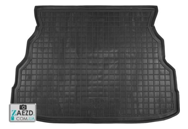 Коврик в багажник Geely CK 05-08, резиновый (Avto Gumm)