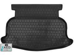 Коврик в багажник Geely Emgrand EC7 11-19, резиновый (Avto Gumm)