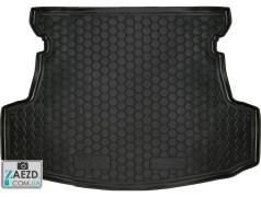 Коврик в багажник Geely GC5 14-16 седан, резиновый (Avto Gumm)