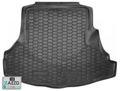 Коврик в багажник Honda Accord 7 02-07 седан, резиновый (Avto Gumm)