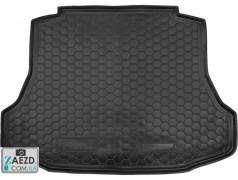 Коврик в багажник Honda Civic 8 06-11 седан, бензиновый, резиновый (Avto Gumm)