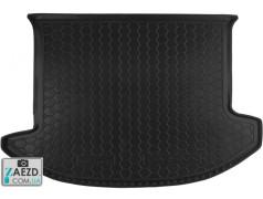 Коврик в багажник Kia Carens 3 06-12, резиновый (Avto Gumm)