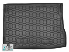 Коврик в багажник Kia Ceed 06-12, резиновый (Avto Gumm)