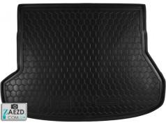 Коврик в багажник Kia Ceed 2 12-18 универсал, резиновый (Avto Gumm)