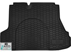 Коврик в багажник Kia Cerato 03-09, резиновый (Avto Gumm)