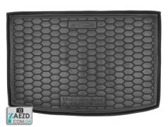 Коврик в багажник Mercedes A W169 04-12, резиновый (Avto Gumm)