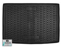 Коврик в багажник Mercedes B W246 12-18 электро, европейская сборка, резиновый (Avto Gumm)