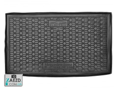 Коврик в багажник Mercedes B W246 12-18 электро, 2-х уровневая полка, резиновый (Avto Gumm)