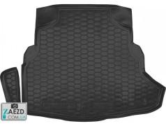 Коврик в багажник Mercedes C W205 14- с ухом, резиновый (Avto Gumm)