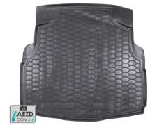 Коврик в багажник Mercedes C W205 14- без уха, резиновый (Avto Gumm)