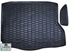 Коврик в багажник Mercedes CLA C117 13-19, резиновый (Avto Gumm)