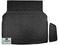 Коврик в багажник Mercedes E W212 09-17, резиновый (Avto Gumm)