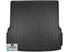 Коврик в багажник Mercedes GLS X166 15-19 7 мест, резиновый (Avto Gumm)