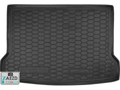 Коврик в багажник Mercedes GLA X156 13-20, резиновый (Avto Gumm)