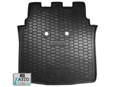 Коврик в багажник Smart Forfour 454 04-06, резиновый (Avto Gumm)