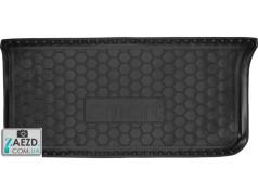 Коврик в багажник Smart Fortwo 451 07-14, резиновый (Avto Gumm)