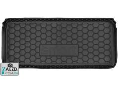 Коврик в багажник Smart Fortwo 450 98-07, резиновый (Avto Gumm)