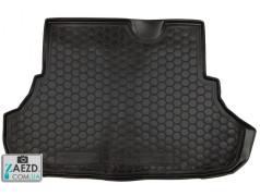 Коврик в багажник Mitsubishi Lancer X 10 07-17, резиновый (Avto Gumm)