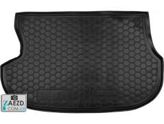 Коврик в багажник Mitsubishi Outlander 03-06, резиновый (Avto Gumm)