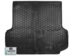 Коврик в багажник Mitsubishi Pajero Sport 2 08-16, резиновый (Avto Gumm)