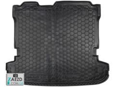 Коврик в багажник Mitsubishi Pajero 4 06- 7 мест, резиновый (Avto Gumm)