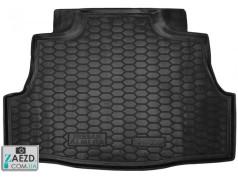 Коврик в багажник Nissan Almera Classic 06- резиновый (Avto Gumm)