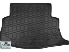 Коврик в багажник Nissan Leaf 10-17, резиновый (Avto Gumm)