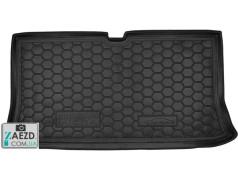Коврик в багажник Nissan Micra 02-10, резиновый (Avto Gumm)
