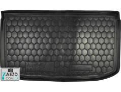 Коврик в багажник Nissan Micra 10-17, резиновый (Avto Gumm)