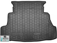 Коврик в багажник Nissan Primera 01-07, резиновый (Avto Gumm)