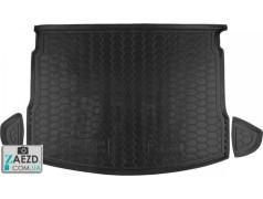 Коврик в багажник Nissan Qashqai 06-10, резиновый (Avto Gumm)