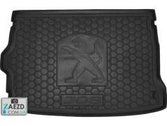 Коврик в багажник Peugeot 308 13- хетчбэк, резиновый (Avto Gumm)